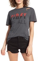 Ten Sixty Sherman Women's First Of All Ripped Tee