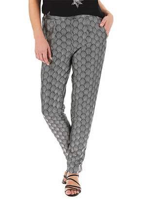 Capsule Print Satin Tapered Trousers