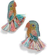 BaubleBar Cayman Bird & Tassel Earrings