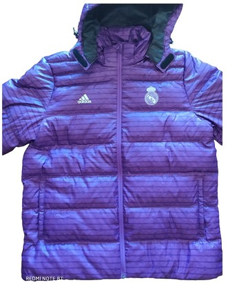 adidas Purple Polyester Coats
