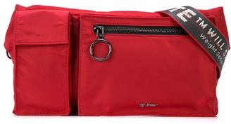 Off-White Red Industrial Belt Bag