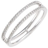 Nordstrom Women's Bony Levy 'Prism' Two-Row Diamond Ring Exclusive)