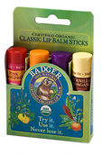 Badger Classic Lip Kit - Green 4 x 4.2g