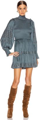 Ulla Johnson Angelica Dress in Slate   FWRD