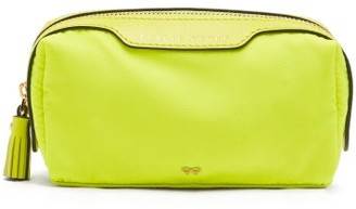 Anya Hindmarch Girlie Stuff Make-up Bag - Womens - Yellow