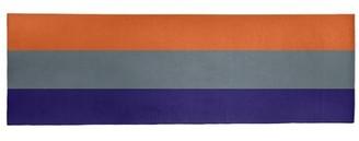 "Striped Purple/Gray/Orange Area Rug East Urban Home Rug Size: Runner 2'6"" x 8'"