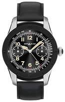 Montblanc 117548 Summit Leather Strap Smart Watch, Black