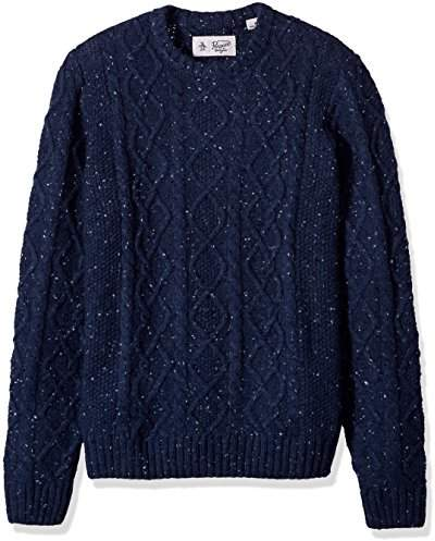 Original Penguin Men's Wool Alpaca Crew Sweater