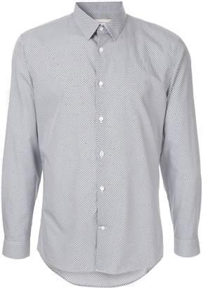 Cerruti micro dot print shirt