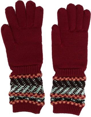 Missoni Ring-Detail Knit Gloves