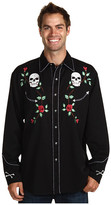 Scully Skull Roses Shirt