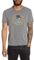 John Varvatos Men's Top Hat Skull Graphic T-Shirt