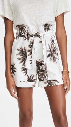 le superbe The Palms Paper Bag Shorts