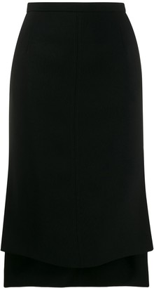No.21 High-Low Mid-Length Skirt
