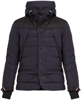Moncler Arvieux hooded quilted-down jacket