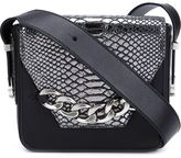 Thomas Wylde snakeskin detail bag