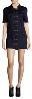 Finders Keepers Great Heights Cotton Mini Dress