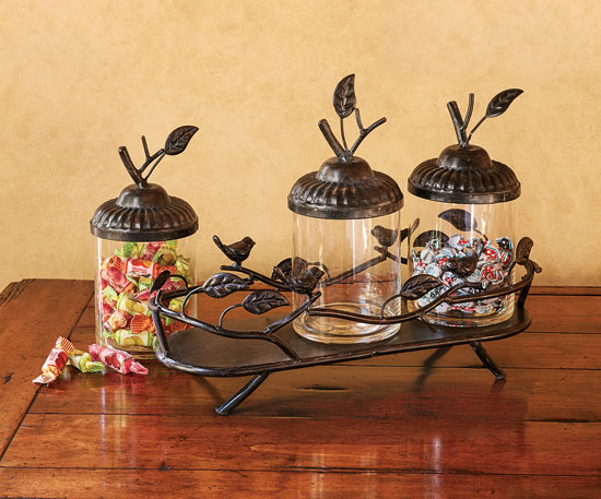 Napa Style Bird's Nest Canisters