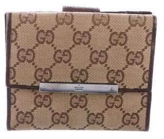 f546a6b33883 Gucci Gg Canvas Wallet - ShopStyle