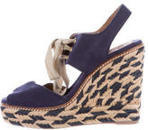 Tory Burch Linley Espadrille Wedge Sandals