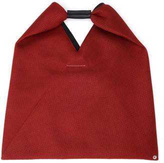 MM6 MAISON MARGIELA Shopper In Red Perforated Fabric