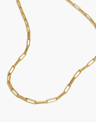 Madewell Paperclip Chain Necklace
