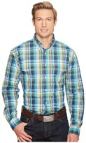 Roper 0830 Water Check Plaid Men's Clothing