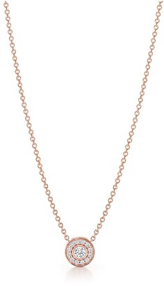 Tiffany & Co. Circlet pendant in 18ct rose gold with diamonds, mini