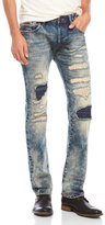 Cult of Individuality Rebel Straight Fit Distressed Jeans