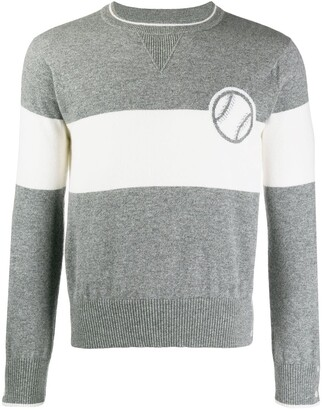Thom Browne Baseball Icon Cashmere Sweater