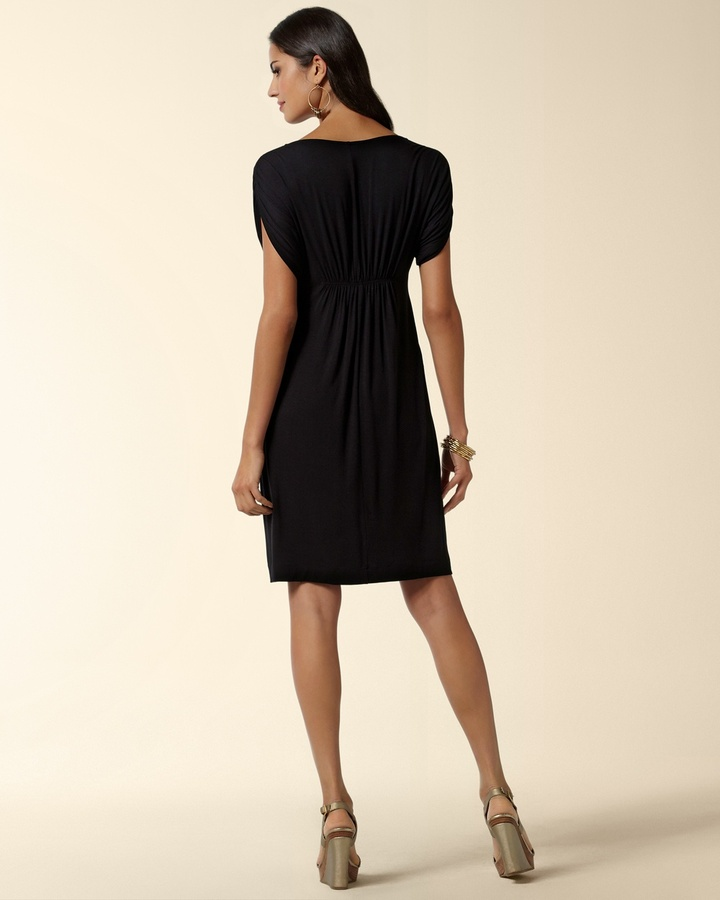 Soma Intimates Shirred Sleeve Dress
