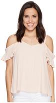 Sanctuary Annie Bare Shoulder Top Women's Short Sleeve Pullover