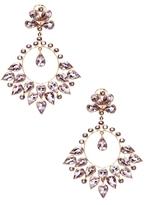 Amrita Singh 14k Gold and Amethyst Aamira Earring