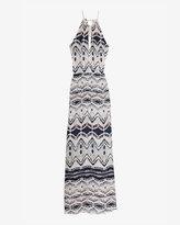 Parker Exclusive Print Keyhole Maxi Dress