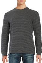 Black Brown 1826 Striped Cotton Top