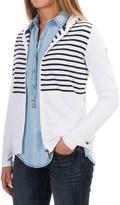 Barbour Yarn-Dyed Cotton Sweatshirt - Zip Front (For Women)