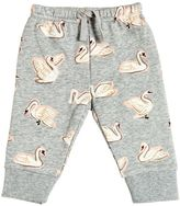 Stella McCartney Swan Print Organic Cotton Sweatpants