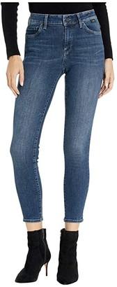 Mavi Jeans Tess High-Rise Super Skinny in Dark Cashmere (Dark Cashmere) Women's Jeans