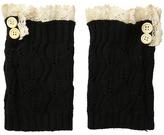 Steve Madden Button Lace Boot Cuff