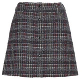 MAISON KITSUNÉ Tweed Miniskirt
