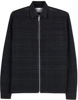Our Legacy Indigo Plaid Cotton Jacket