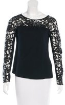 Chanel Lace Inset Top