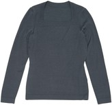 Alaia Anthracite Wool Knitwear for Women