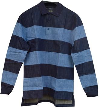 Givenchy Blue Cotton Polo shirts