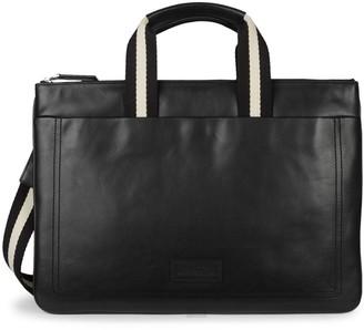 Bally Tigan Leather Business Bag