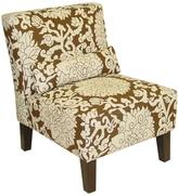 Home Decorators Collection Anita Chocolate Slipper Chair