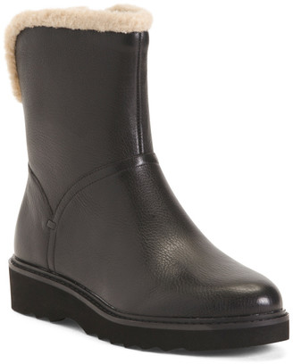 Comfort Waterproof Leather Boots