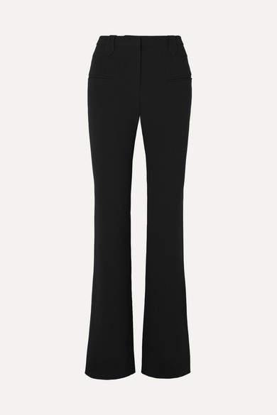 Altuzarra Serge Cady Bootcut Pants - Black