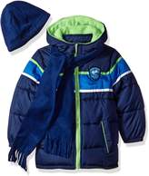 iXtreme Little Boys' Colorblock Gwp Puffer