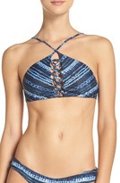 L-Space Women's L Space Reversible Bikini Top